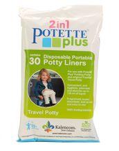 Potette plus hygieniapussit 30 kpl - Matkapotat ja lisävarusteet - 088161541723 - 1