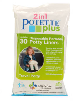 Potette plus hygieniapussit 30 kpl - Matkapotat ja lisävarusteet - 088161541723