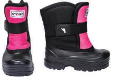Stonz Winter Bootz Scout talvikengät - Pink/Black - Talvikengät - 51248740123 - 1