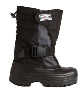 Stonz Winter Bootz Trek talvikengät - Black/Grey - Talvikengät - 8108540085783 - 1