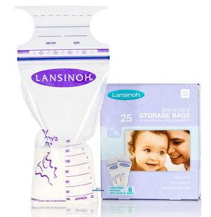 Lansinoh maidonsäilytyspussit 25 kpl - Rintapumput ja lisävarusteet - 5060062994353 - 1