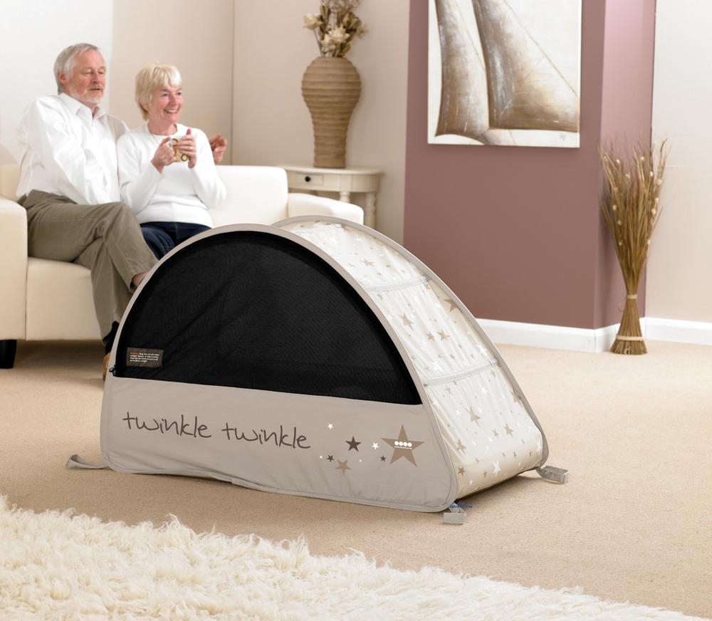 Koo-di Sun & Sleep Pop-Up Bubble matkasänky - Matkasängyt ja lisävarusteet - 5060023800204 - 4