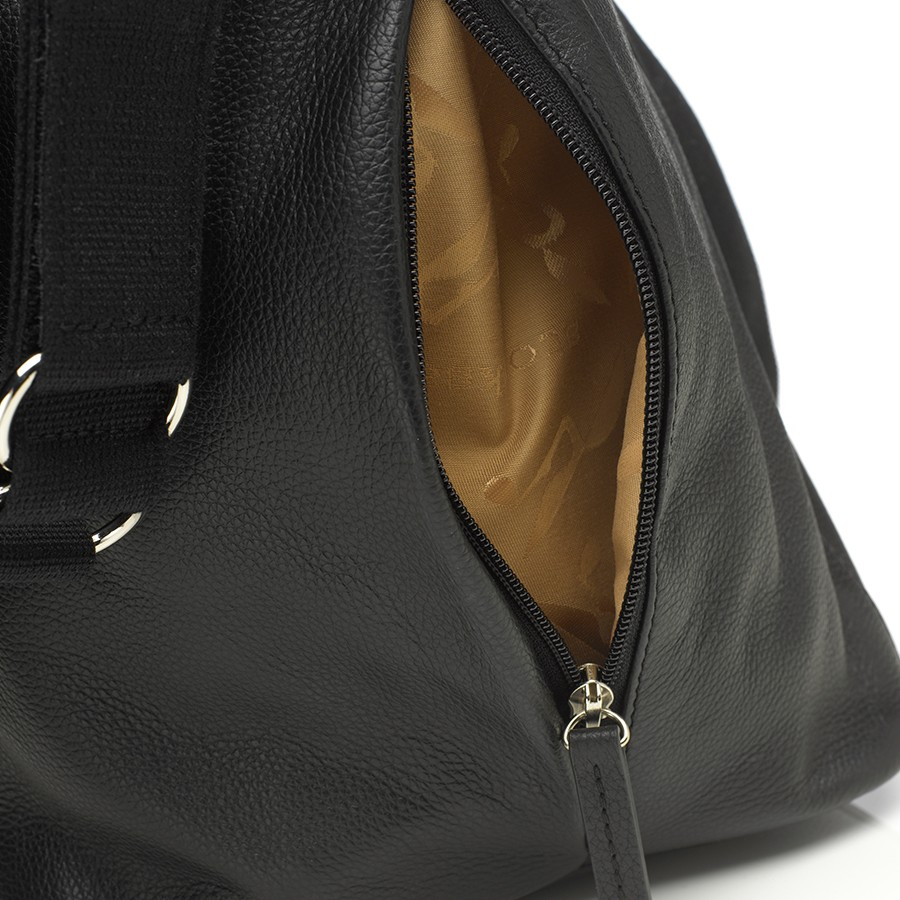 Storksak hoitolaukku Noa Leather Black - Hoitolaukut - 5060219256914 - 5