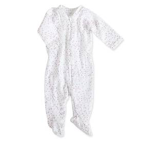 Aden+anais Muslin Long Sleeve One-piece potkuhousut - Lovely Mini Hearts - Potkuhousut - 5120321414 - 1