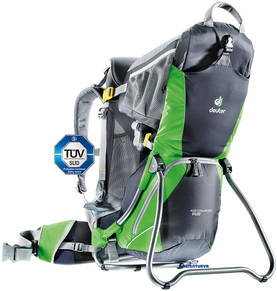 Deuter Kid Comfort Air lastenkantorinkka - Graphite -spring -2014 - Lastenkantorinkat ja rinkat - 4046051048994 - 1