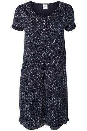 Mamalicious MlChill Lia S/S Jersey Nightgown yöpuku - Yöasut - 23659558454
