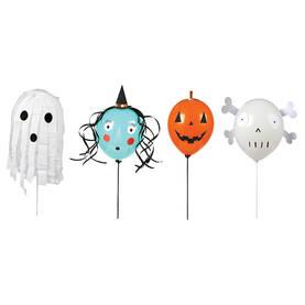 Meri Meri ilmapallot 4kpl - Halloween - 636997233994 - 1