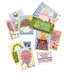 Milestone Baby Cards kortit (SWE) - Kortit - 8718564760071 - 1