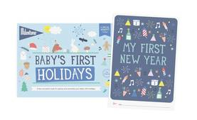 Milestone Booklet Baby's First Holidays - Kortit - 8718564767094 - 1