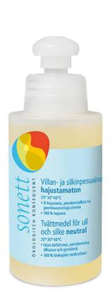 Sonett villan- ja silkinpesuneste 120 ml - Pesu- ja hoitoaineet - 4007547305144 - 2