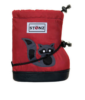 Stonz Booties töppöset 2016 - Raccoon Red Plus - Tossut ja kengät - 3200210054 - 1
