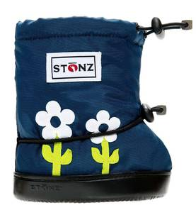 Stonz Booties töppöset 2017 - Flower Lime Green Plus - Töppöset - 5236658544 - 1