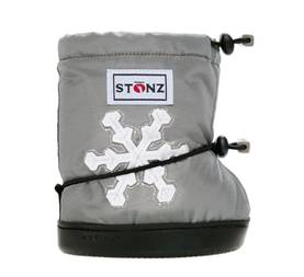 Stonz Booties töppöset - Snowflake Silver Plus - Töppöset - 500121454 - 1