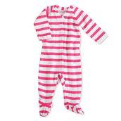 Aden+anais Muslin Long Sleeve One-piece potkuhousut - Pink Blazer Stripe - Potkuhousut - 6253008454 - 1