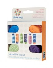 Lifefactory Color Caps 4 kpl - Tuttipäät, juomanokat ja korkit - 8048792507774 - 1