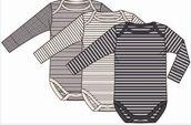 Minimize MmDust Body L/S Basic 3 pack body pitkillä hihoilla - Bodyt - 6325999854 - 1