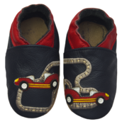 Rose et Chocolat ClassicZ nahkatossut - Little Racers Navy - Tossut - 6232514474