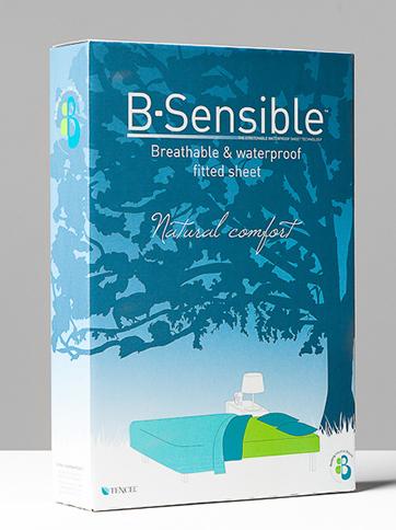 B-Sensible Patjan suojalakana 180x200cm - Patjan suojalakanat ja suojat - 23435454534 - 1