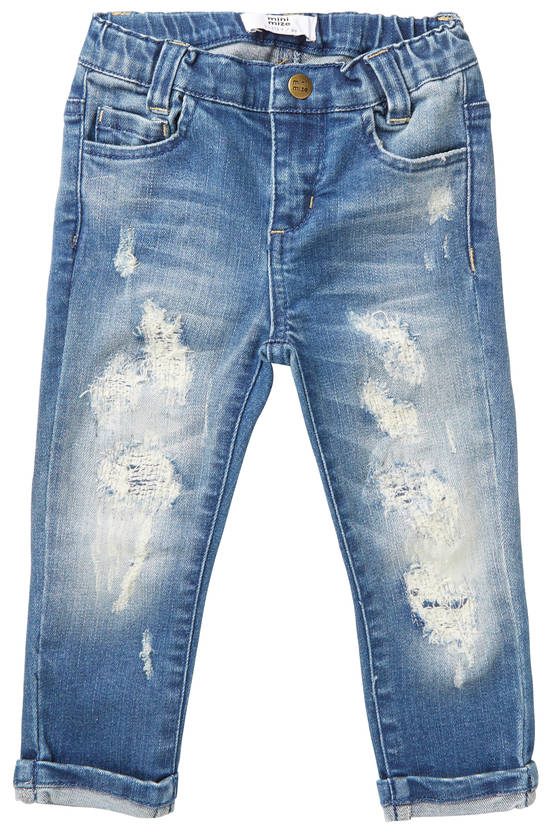 Minimize MmStorm Vintage Denim Pants farkut - Housut - 20032365654 - 1