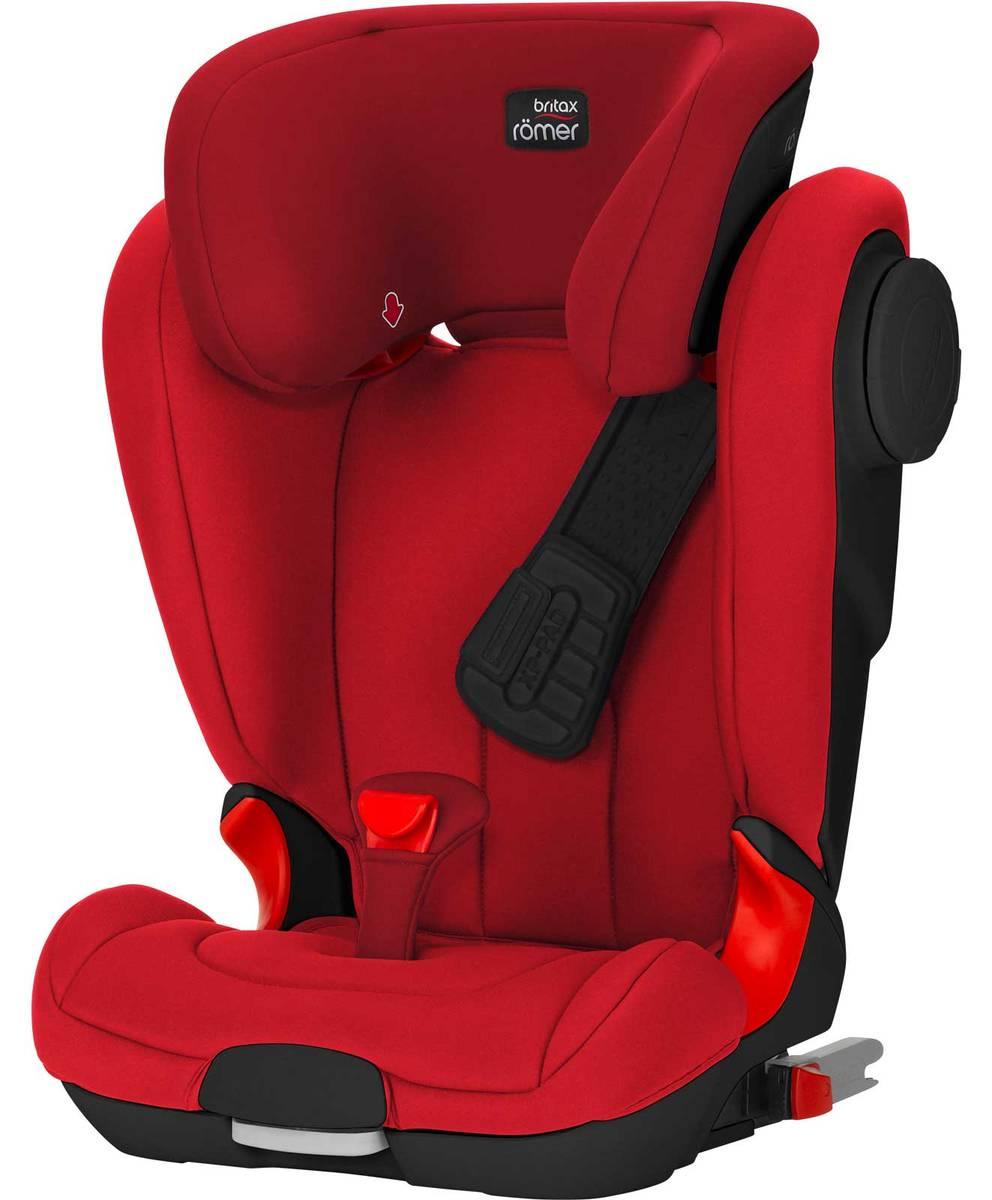 Flame Red - Turvavyöistuimet - 51222300025 - 2