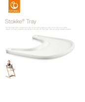 Stokke Tray syöttötuolin pöytä/tarjotin - Syöttötuolin lisävarusteet - 7040354285015 - 2