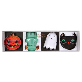 Meri Meri piparimuotit 4kpl - Halloween - 636997234205 - 1
