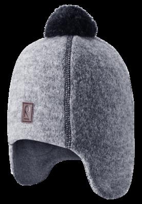 Reima Beanie Reipas villamyssy - Mid Grey - Kypärälakit ja pipot - 55584777965 - 1
