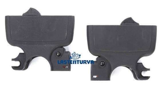 Mutsy adapterit Safe2Go--Slider - Adapterit yhdistelmävaunuihin - 34565465465 - 1