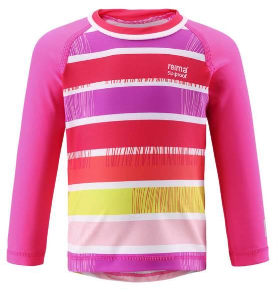 Reima SunProof Borneo UV-paita - Supreme Pink - UV-vaatteet - 1200548745 - 1