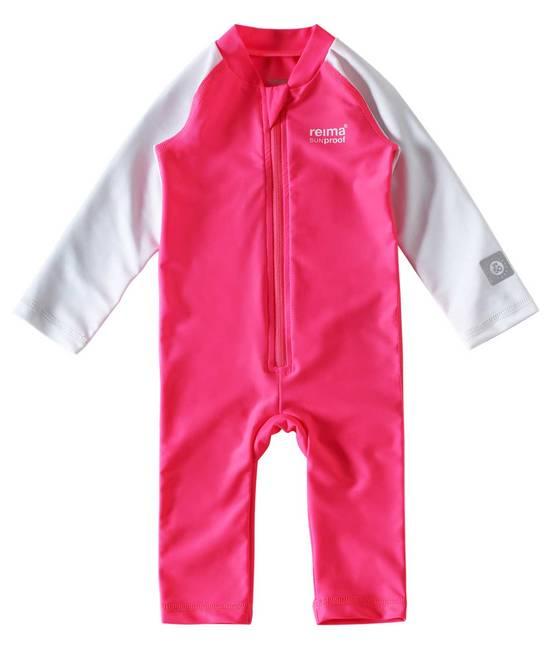 Reima SunProof Maracuya UV-uima-asu - Supreme Pink - UV-vaatteet - 1230003695 - 1