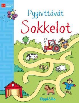Oppi ja ilo Pyyhittävät Sokkelot - Kirjat, vihkot ja kirjaimet - 9789526309026 - 1