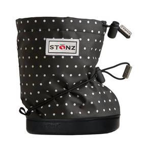 Stonz Booties töppöset 2016 - Polka Dot Black & White Plus - Töppöset - 56669966586 - 1
