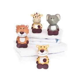 Teddykompaniet kylpylelu 4 erilaista - Kylpylelut ja korit - 7331626090216 - 1