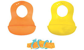 Oranssi ja keltainen (värit luonnossa haaleampia) - Ruokalaput - 3159928122206 - 4