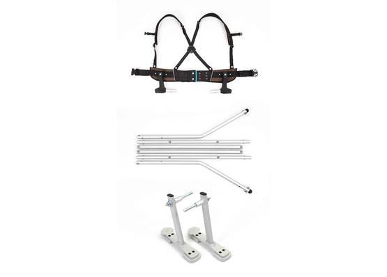 Croozer Ski Adapter Kit setti - Lisävarusteet - 122002616 - 1