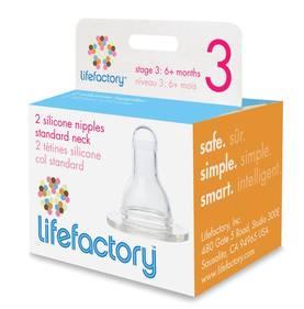 Lifefactory pullotutti 2kpl 3, 6kk+ - Tuttipäät, juomanokat ja korkit - 718122112937 - 1