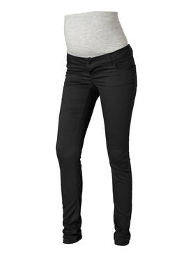 Mamalicious Shelly Black Slim Pants-Noos housut - musta - Housut ja haalarit - 336500787 - 1
