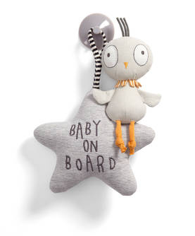 Mamas&Papas Baby On Board lintu - Baby on Board -kyltit - 5057232886747 - 1