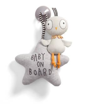 Mamas&Papas Baby On Board lintu - Baby on Board -kyltit - 5057232886747 - 1