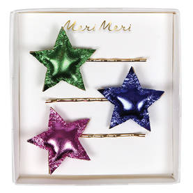 Meri Meri hiuspinni tähdet - Joulu - 636997233567 - 1