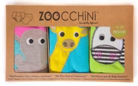 Zoocchini kuivaksiopetteluhousut - Safari Friends, tytöt - Koko 2-3 -v. - 2010022547 - 1
