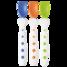Tigex värikkäät ensilusikat 3 kpl - Lusikat ja syömäpuikot - 3159921212577 - 1