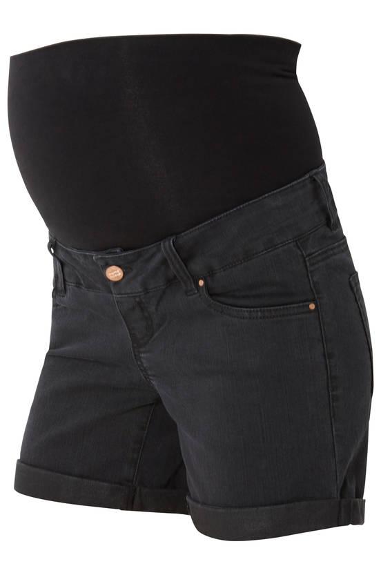 Mamalicious MlAlberte Black Denim Shorts odotusshortsit - Paidat ja topit - 21300254847 - 1