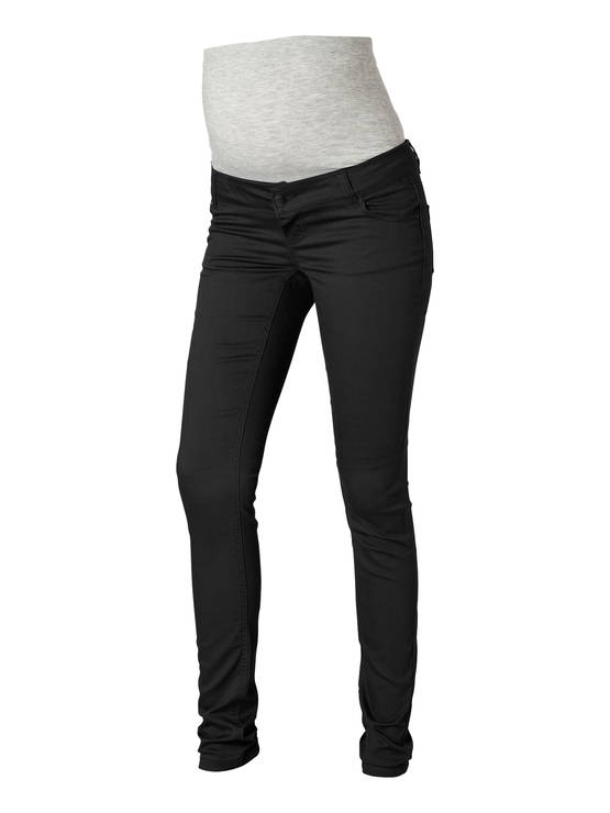 Mamalicious Shelly Black Slim Pants-Noos housut - musta - Housut ja haalarit - 336500787 - 1