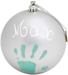 Baby Art joulupallo hopea - Joulu - 3220660238545 - 1