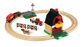 Brio maatila ratasetti - Puulelut - 7312350337198 - 1