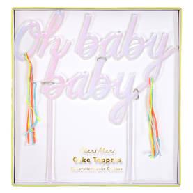 Meri Meri kakkukoriste - Babyshower - 636997229058 - 1