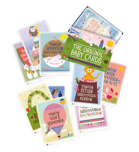 Milestone Baby Cards kortit (FIN) - Kortit - 8718564760088 - 5