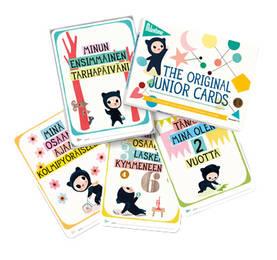 Milestone Junior Cards kortit (FIN) - Kortit - 8718564760828 - 1