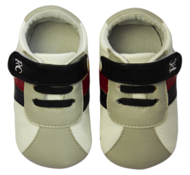 Rose et Chocolat MiniZ RunnerZ tossut - White Grey - Tossut - 6235477458